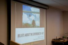 Dr. Jessecae Marsh's presentation on Beliefs about the Experience of Art - Lehigh University